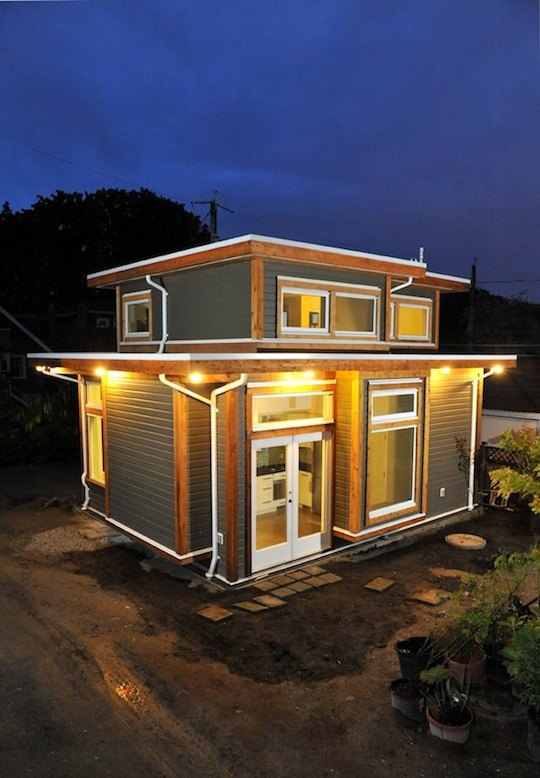 500 square foot small house for Small house design 100 square feet