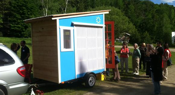 Deek's Micro Cabin on Wheels