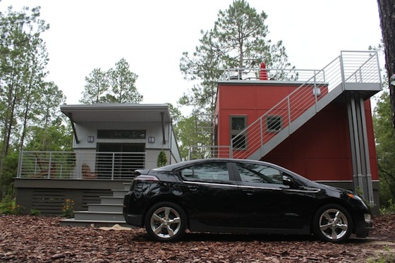 Chevy Volt and i-House