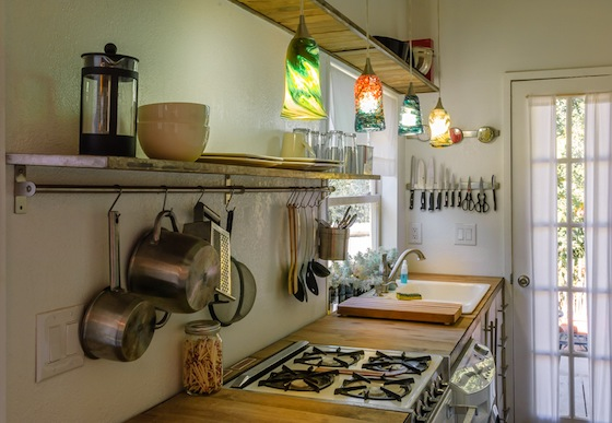 Macy Miller's Tiny House Kitchen