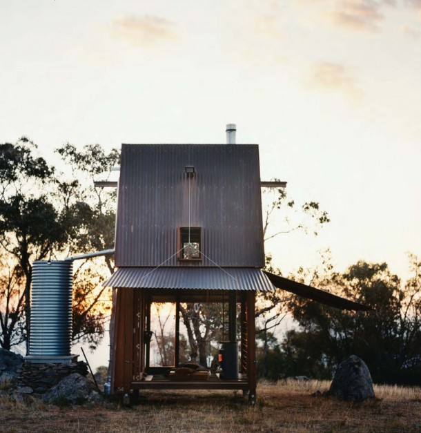 Hilltop Tiny House in Australia