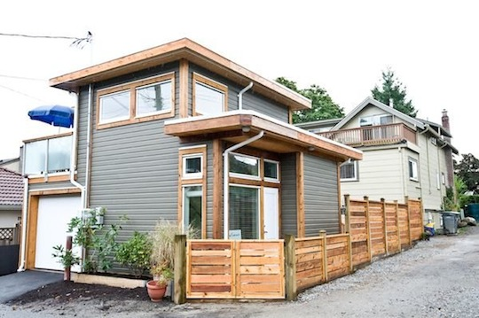 Exterior of 500-square-foot Small House