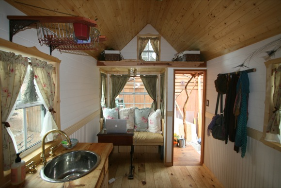 Living Area in Tiny House