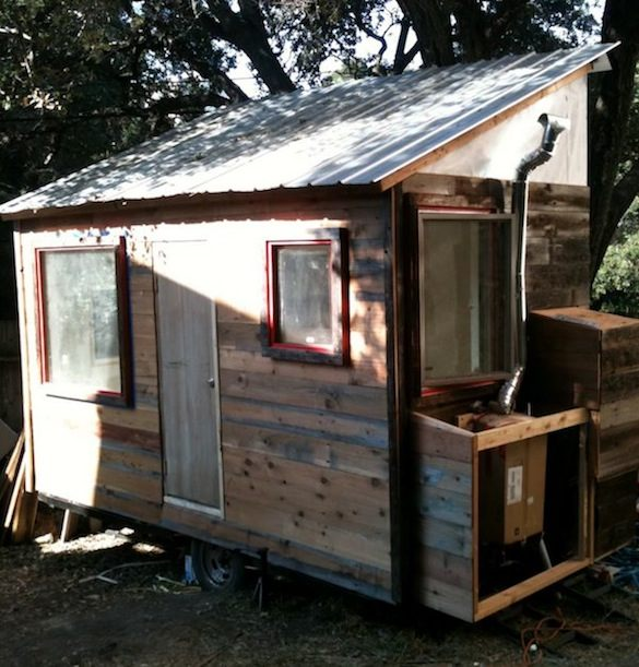 Matt Wolpe's DIY Tiny House Project