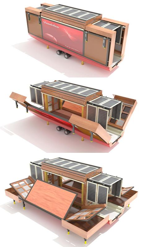 Unboxed: Spacious Fold Out Flat Pack House