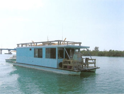 Key West House Boat on the Water