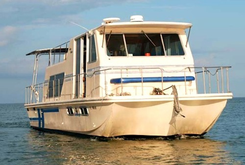 Key West House Boat Rental