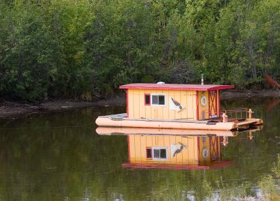 Small House Boat Info Links Pictures and Videos