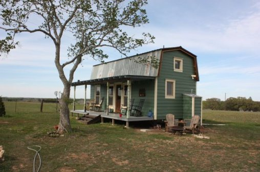 Tiny Texas Houses Recycled Homes