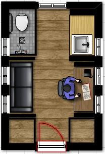 Tiny house floor plans for 7x11 bathroom layouts