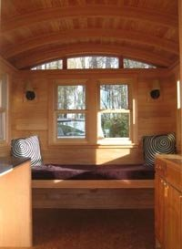 Don Vardo Gypsy Wagon Interior Picture