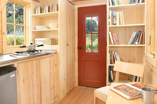 Lusby Living and Kitchen area