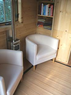 Interior of the Epu Tiny House