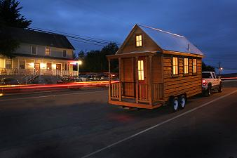 Lusby Tiny House Driving